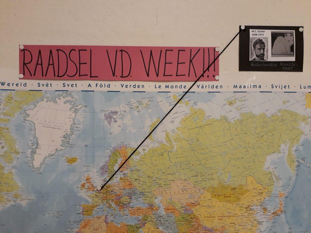 Groep 4 en 5: raadsel van de week is gestart