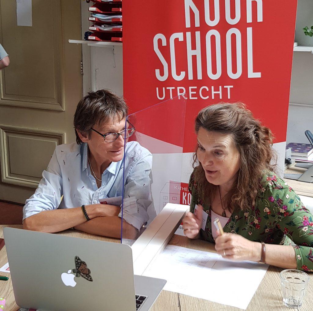 Koorschool team op online open dag